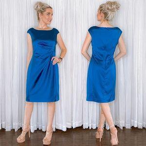 Ralph Lauren Blue Classy Cocktail Dress